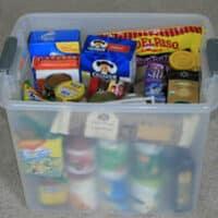 Emergency food box