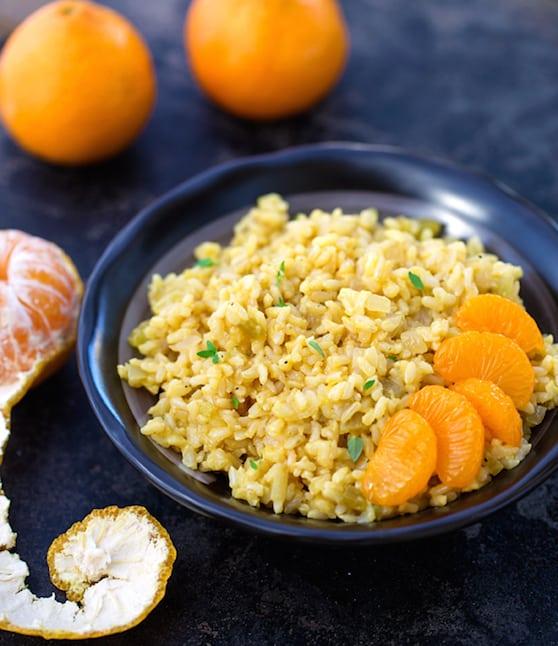 Creole Orange Rice recipe