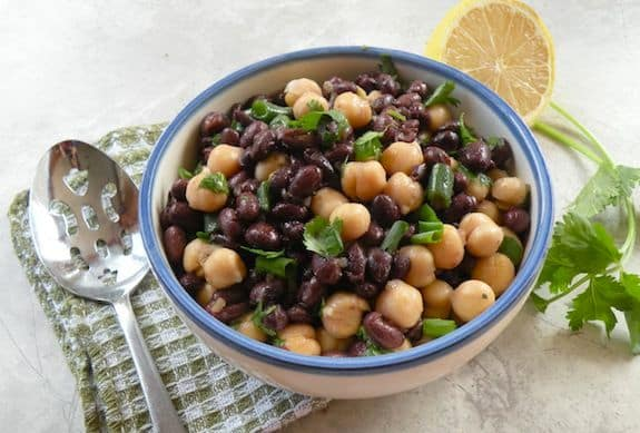 Simple marinated beans