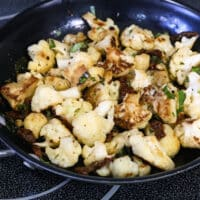 Pan-roasted Cauliflowe