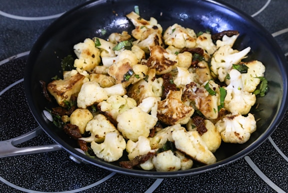 Pan-roasted Cauliflowe