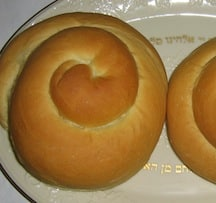 Round challahs