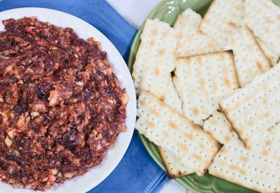 Sephardic Date Haroset recipe