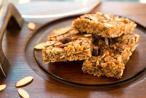 Crispy rice and almond treats by Chef Beverly Bennett