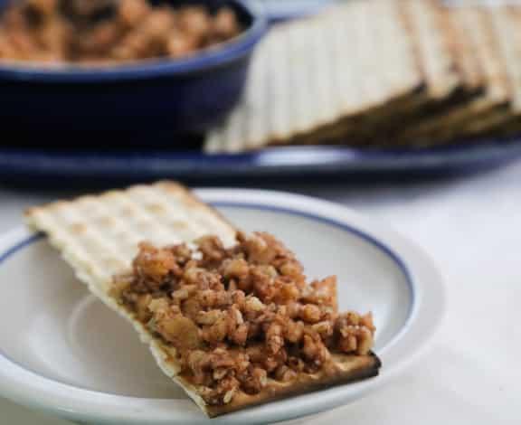 Passover haroset recipe