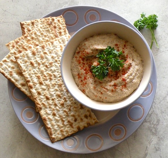 Passover Mock chopped liver (Mushroom, Cashew, and Onion) recipe