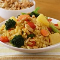Thai pineapple rice recipe