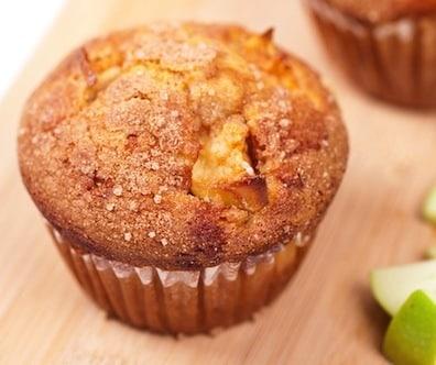Granny Smith apple muffin