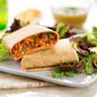 easy vegan bean burritos recipe