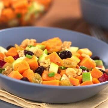 Sweet Potato Waldorf Salad recipe