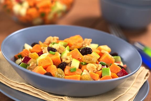 Sweet Potato Waldorf Salad recipe