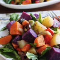 Three-potato salad