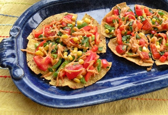 Individual tortilla pizzas recipe