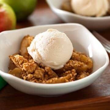 Apple pear crumble recipe