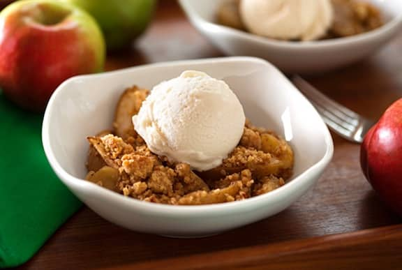 Apple pear crumble recipe