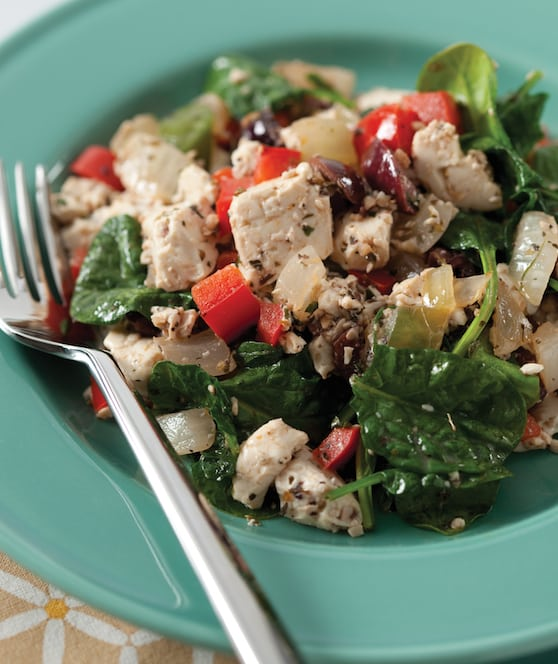 Greek Tofu Scramble recipe by Julie Hasson