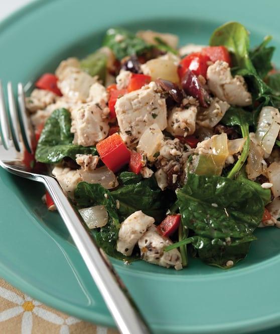 Greek Tofu Scramble recipe by Julie Hasson
