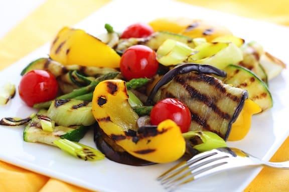 Grilled vegetable assortment
