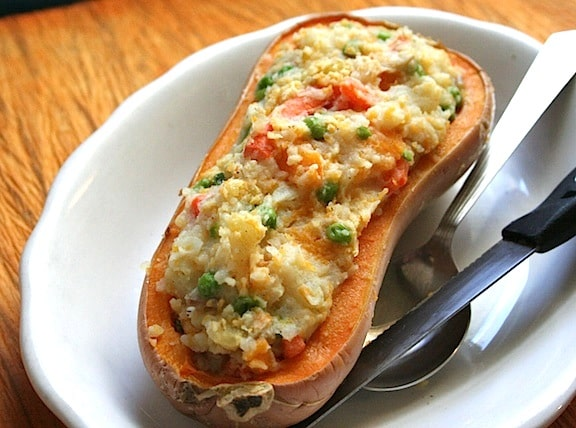 Stuffed Squash with Mashed Pot - 3