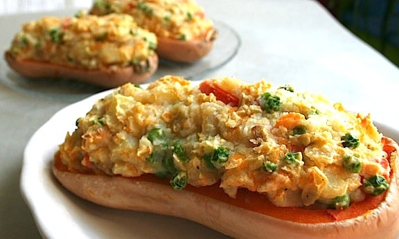 Stuffed Squash with Mashed Pot - 4