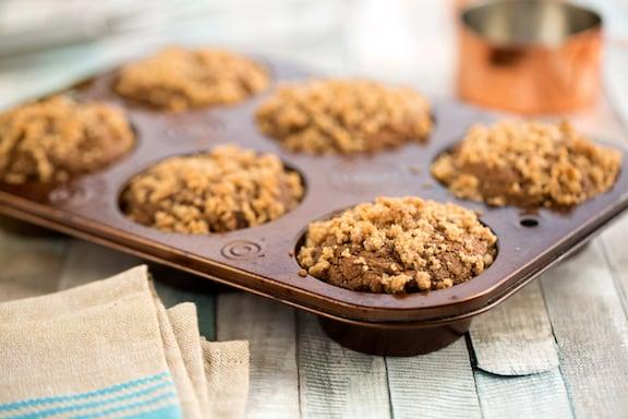 Vegan molasses muffins