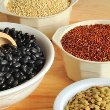 Black Beans, Lentils, And Quinoa