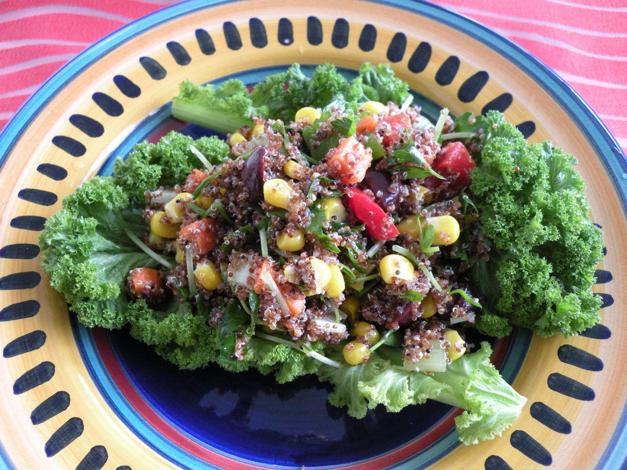 kaniwa salad
