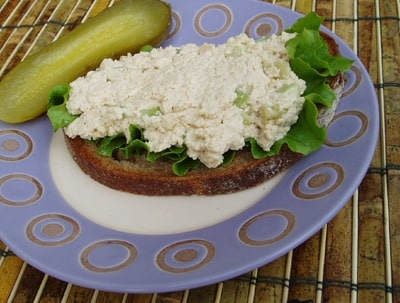 Tofu Salad Sandwich Spread