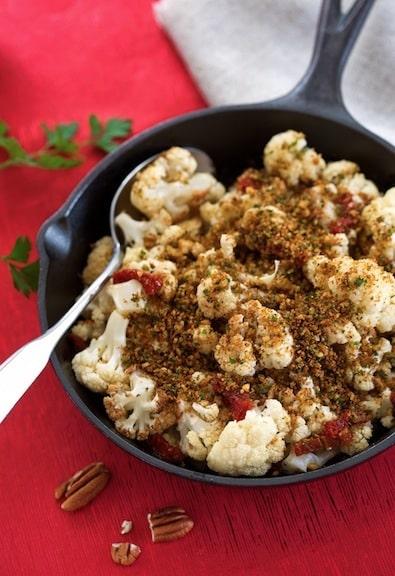 Cauliflower in skillet2