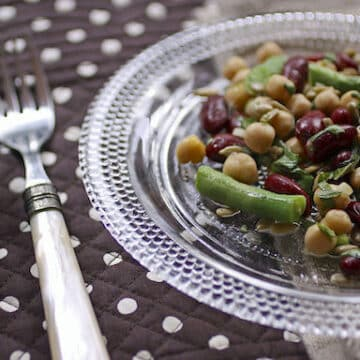 Contemporary Three-Bean Salad