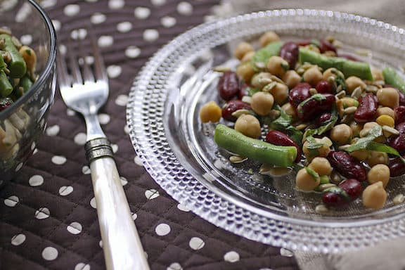 Contemporary Three-Bean Salad