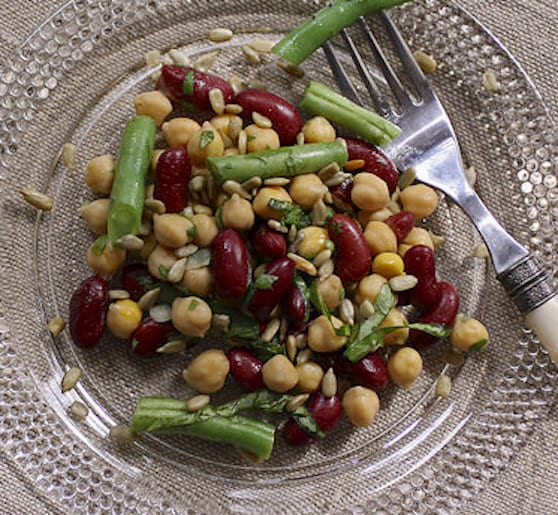 Contemporary Three-Bean Salad Recipe