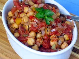 Chickpea Ratatouille by Dreena Burton