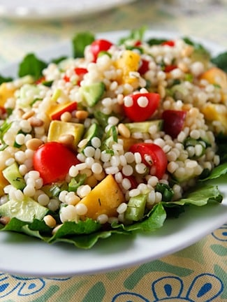 israeli couscous summer salad 1