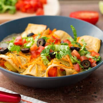 Vegan Enchiladas with Salsa Verde