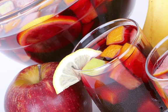 Red Wine Harvest Sangria