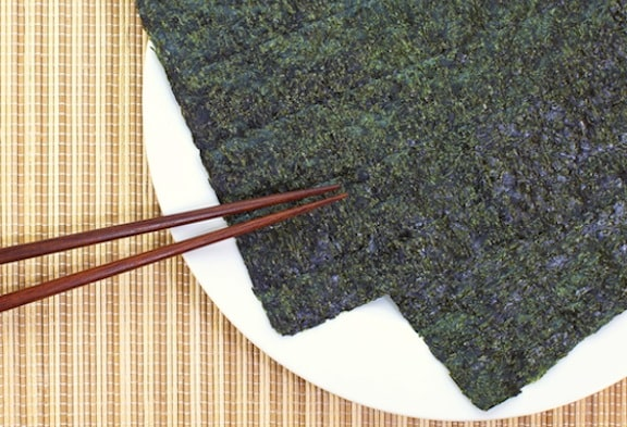 Sheet of dried nori