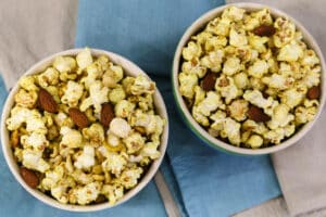 Curry Popcorn and Nuts