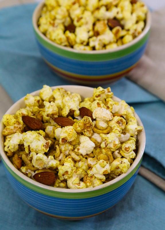 Thug Kitchen Stove Top Herb Popcorn on