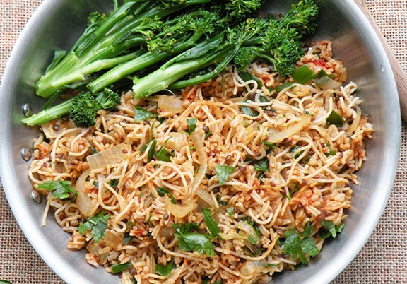 Rice and noodle pilaf recipe