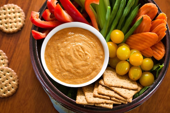 Tofu and sun-dried tomato dip