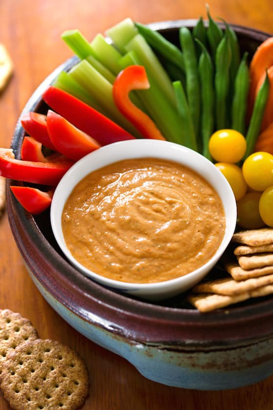 Tofu and sun-dried tomato dip recipe