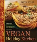 Vegan holiday kitchen by Nava Atlas - cover