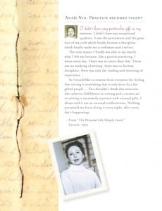 literary ladies guide- Anais Nin