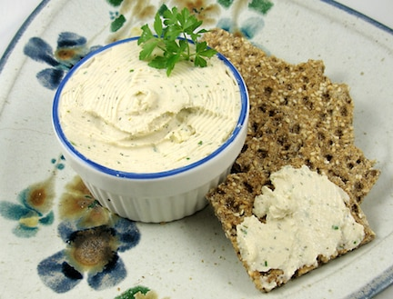 vegan boursin cheese Spread
