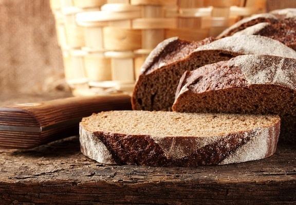 Quick brown bread
