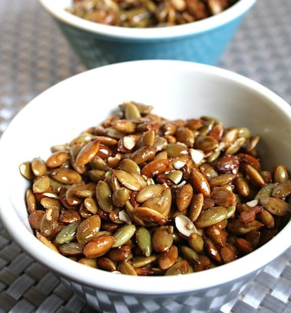 Candied Pumpkin Seeds recipe