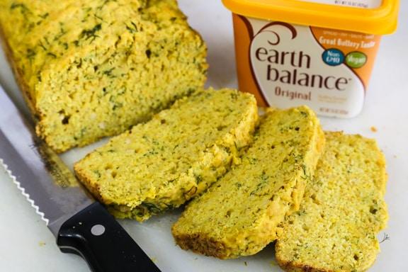 Vegan Dill Bread