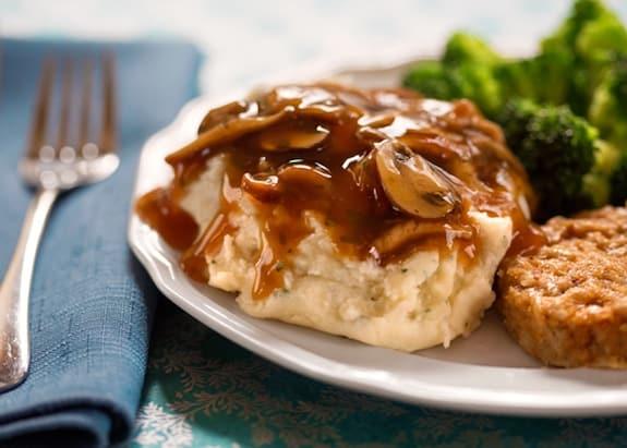 Vegetarian Mushroom Thyme Gravy Recipes — Dishmaps