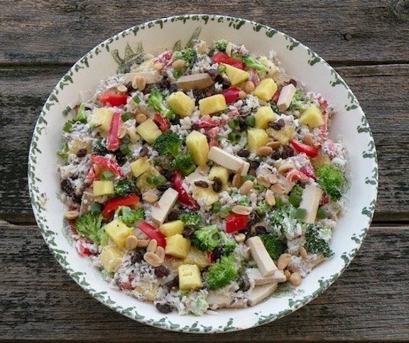 Pineapple Rice salad  recipe